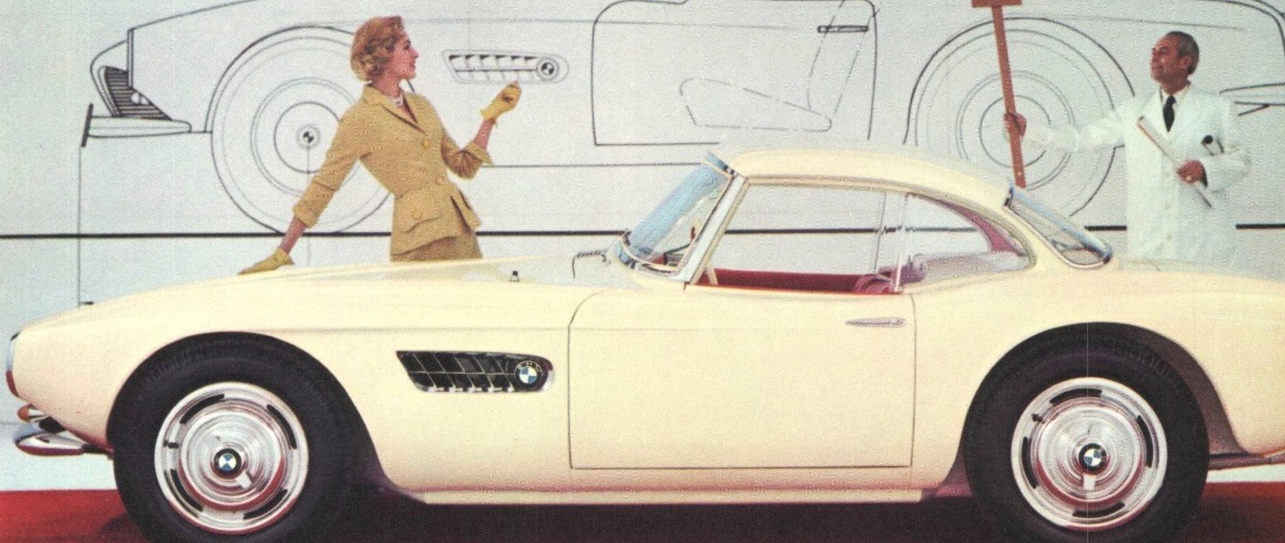 BMW 507 – Klasyczny roadster z końca lat 50.