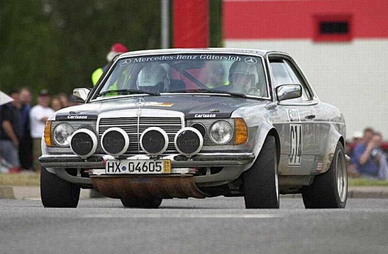 1980 mb 280CE Carlsson 3