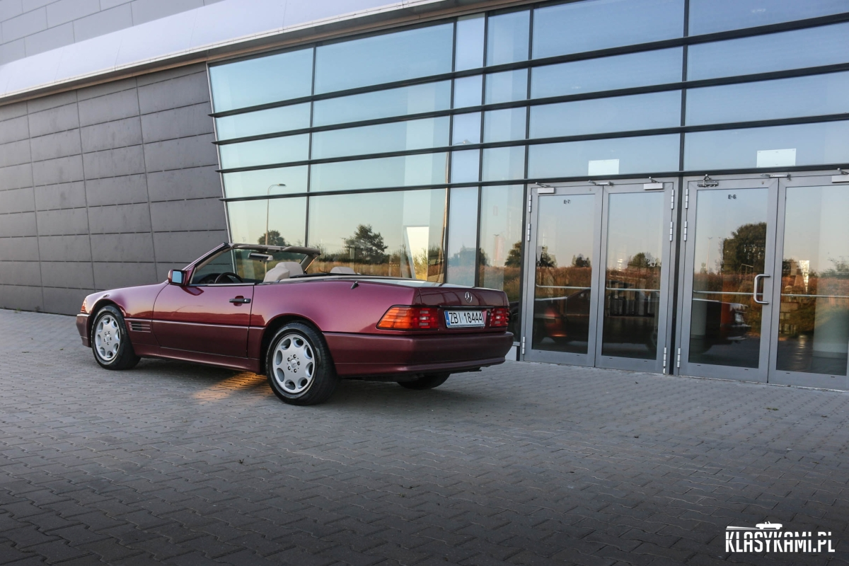 Mercedes Benz R129: Roadster doskonały!