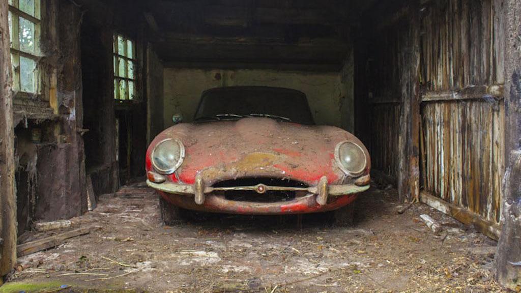 Zapomniany Jaguar E-Type 3.8