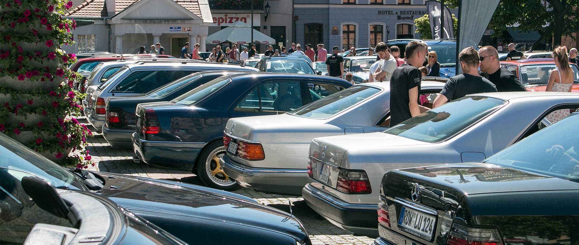 X Zlot Mercedes-Benz w Toruniu