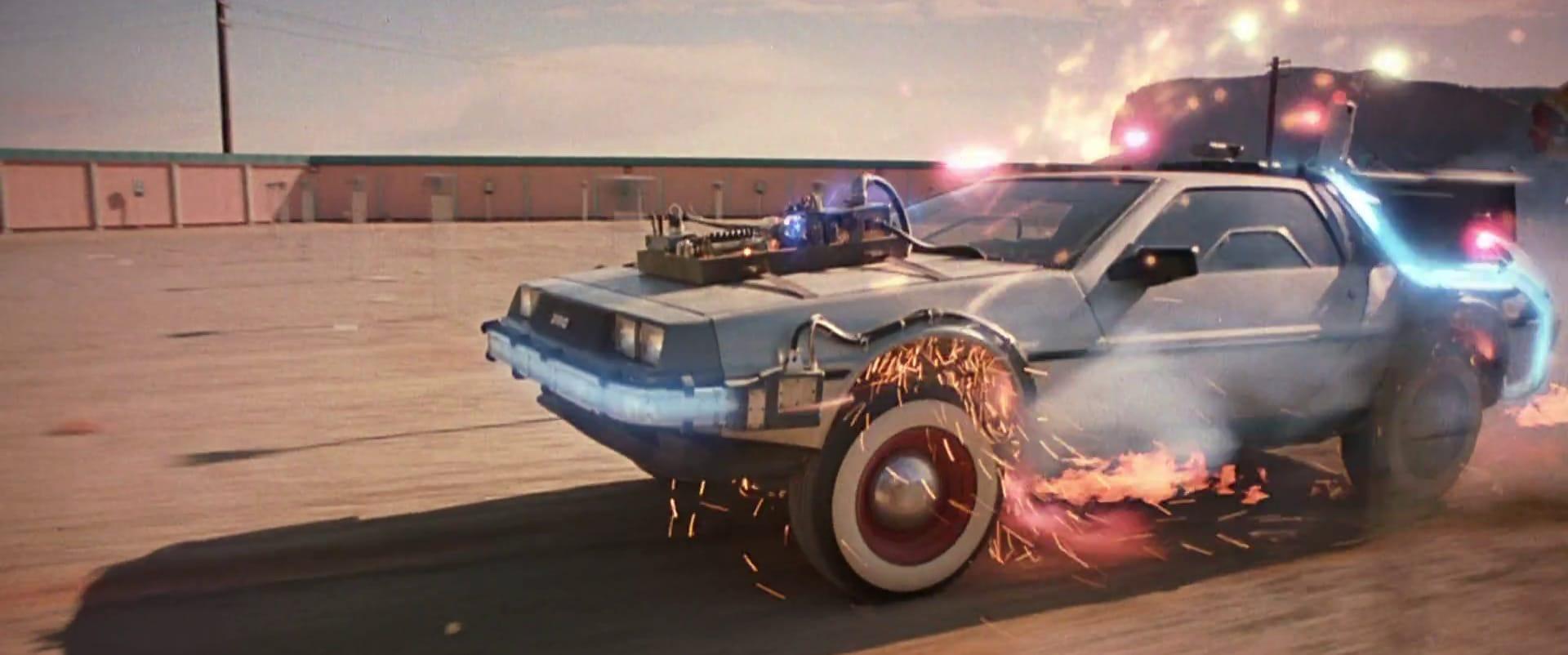 Najdroższy Delorean na świecie, który zagrał w Powrocie do Przyszłości.