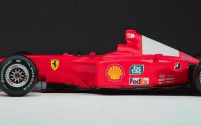 Ferrari Schumachera sprzedane na aukcji!