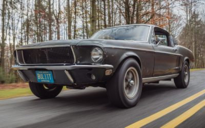 The Original Ford Mustang Bullitt