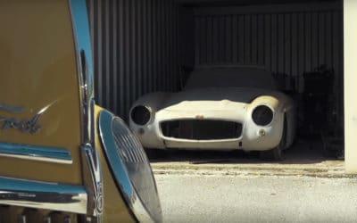 """Mercedes 300SL Gullwing, kolejny klasyk z cyklu """"Barn Find 2018"""""""