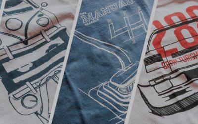 Nowości w sklepie: koszulki dla wszystkich miłośników klasycznej motoryzacji.