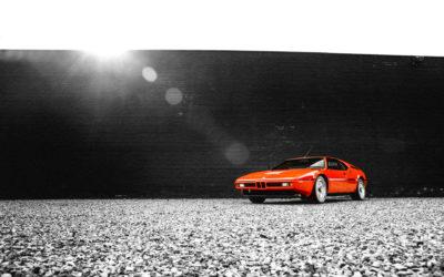 BMW M1: pomarańczowa legenda do wzięcia w tym tygodniu w Monaco.