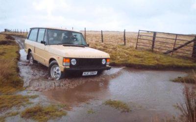 Kolejny elektryczny klasyk. Tym razem trafiło na Range Rovera.