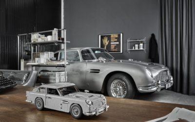 Aston Martin DB5 dla najmłodszych. Lego naprawdę dobrze czuje temat klasycznej motoryzacji.