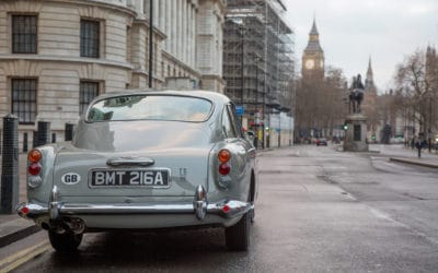 "Aston Martin zbuduje repliki modelu DB5 z filmu ""Goldfinger"""