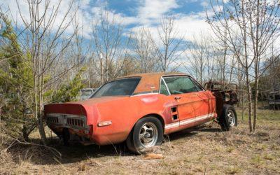 """Shelby GT500 """"Little Red"""" Coupe. Jedno z najważniejszych odkryć w historii amerykańskich klasyków?"""