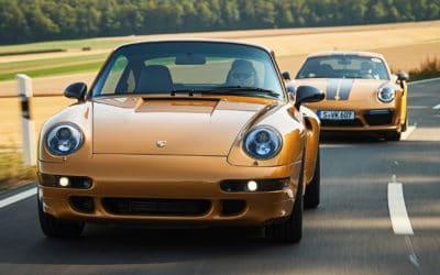 Project Gold zaprezentowany! Porsche zbudowało zupełnie nową 911 (993) Turbo.