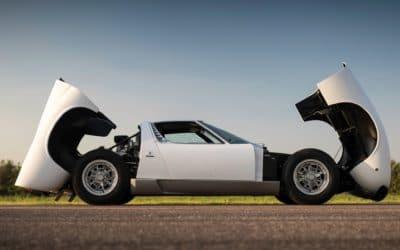 Wyjątkowe Lamborghini Miura Roda Stewarta trafi na licytacje
