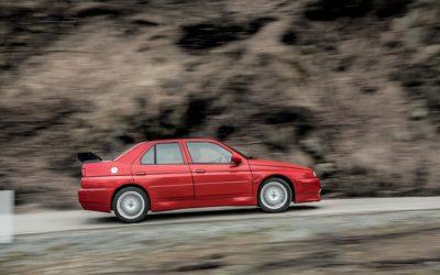 Włoch, który nigdy nie istniał. Jedyna Alfa Romeo 155GTA Stradale trafi na aukcję.