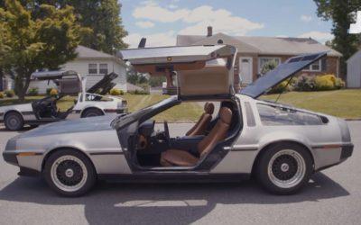 Delorean jako czteroosobowy samochód rodzinny? Jest taki jeden na świecie.