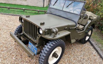 Jeep Willys Steve'a Mcqueena sprzedany w Birmingam. Ciekawych aut było więcej.