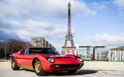 Lamborghini Miura od Polo Storico. Tak wygląda gwiazda Retromobile Paris 2019.