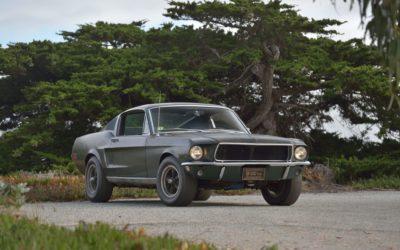 Najdroższy Ford Mustang w historii. Bullitt sprzedany na aukcji za 3,4 mln $.