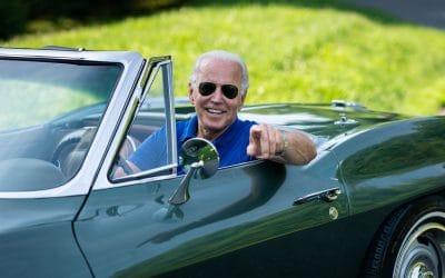 Joe Biden & Chevrolet Corvette Stingray: stanowisko prezydenta nie jest stworzone dla fanów czterech kółek